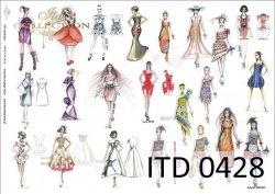 Papier decoupage ITD D0428