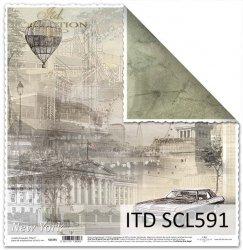 Papier scrapbooking SCL591