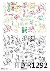 Papier ryżowy ITD R1292