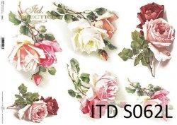 Papier decoupage SOFT ITD S0062L