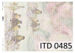 Papier decoupage ITD D0485