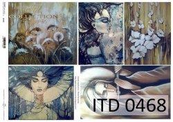Papier decoupage ITD D0468