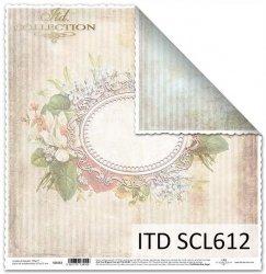 Papier scrapbooking SCL612