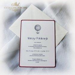 Zaproszenie komunijne 1748_balon_bordo