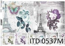 Papier decoupage ITD D0537M