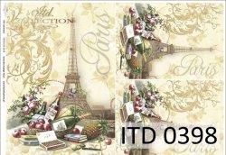 Papier decoupage ITD D0398