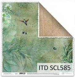Papier scrapbooking SCL585