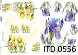 Papier decoupage ITD D0556
