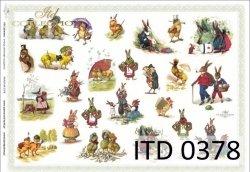 Papier decoupage ITD D0378