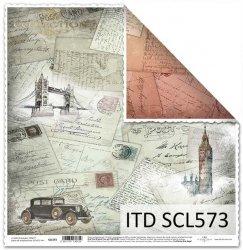 Papier scrapbooking SCL573