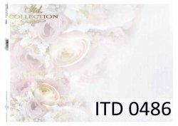 Papier decoupage ITD D0486