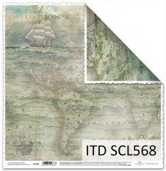 Papier scrapbooking SCL568