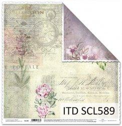 Papier scrapbooking SCL589