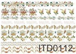 Papier decoupage ITD D0112