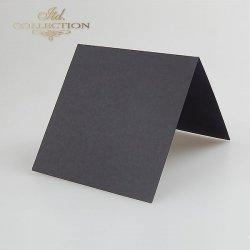 Baza do kartki 132x132 mm * Czarna
