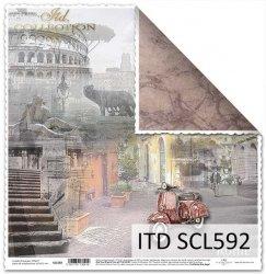 Papier scrapbooking SCL592