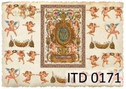 Papier decoupage ITD D0171