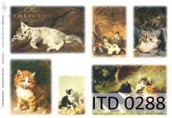 Papier decoupage ITD D0288