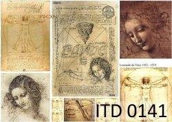 Papier decoupage ITD D0141