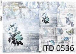 Papier decoupage ITD D0536