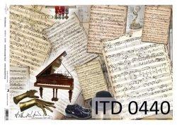 Papier decoupage ITD D0440