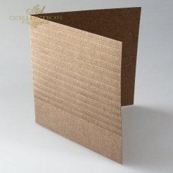 Baza do kartki BDK-019 - 150x150 mm * EKO-paski