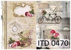 Papier decoupage ITD D0470