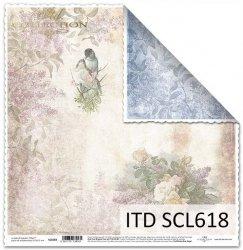 Papier scrapbooking SCL618