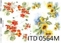 Papier decoupage ITD D0564M