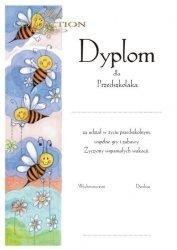 Dyplom Pasowania na Przedszkolaka Pszczólki 1