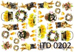 Papier decoupage ITD D0202