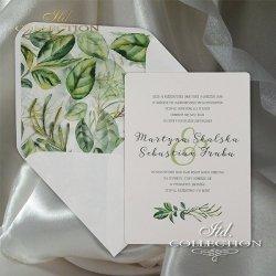 Zaproszenia ślubne / zaproszenie 2062