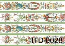 Papier decoupage ITD D0028