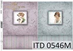 Papier decoupage ITD D0546M
