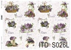 Papier decoupage SOFT ITD S0026L