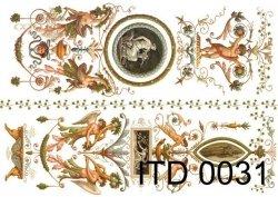 Papier decoupage ITD D0031