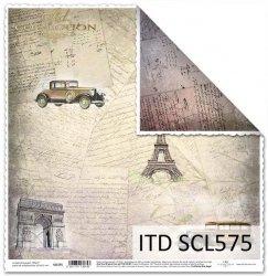 Papier scrapbooking SCL575