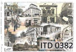 Papier decoupage ITD D0382