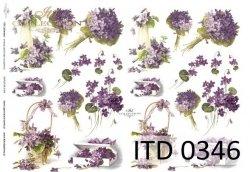 Papier decoupage ITD D0346