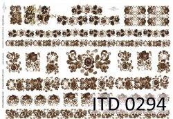 Papier decoupage ITD D0294