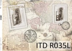 Papier ryżowy ITD R0035L