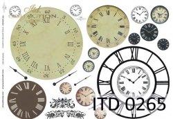 Papier decoupage ITD D0265