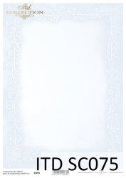 Papier scrapbooking SC075