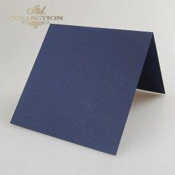 Baza do kartki 152x152 mm * Granatowa
