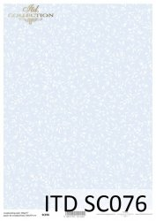Papier scrapbooking SC076