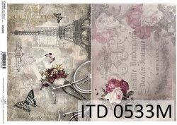 Papier decoupage ITD D0533M