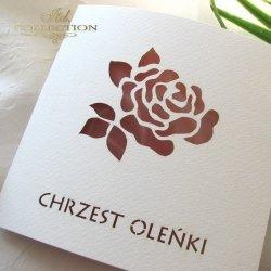 Zaproszenie na chrzest 1731_010_róża