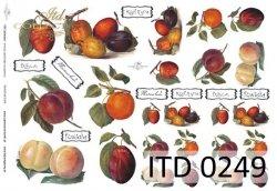 Papier decoupage ITD D0249