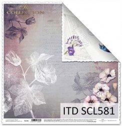 Papier scrapbooking SCL581