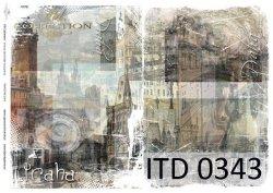 Papier decoupage ITD D0343